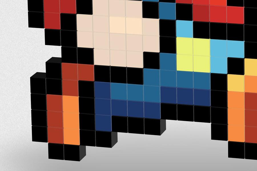 Super Mario 3D - poster closeup 1