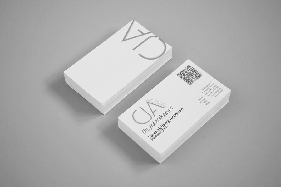 cja - brevpapir & visitkort 2