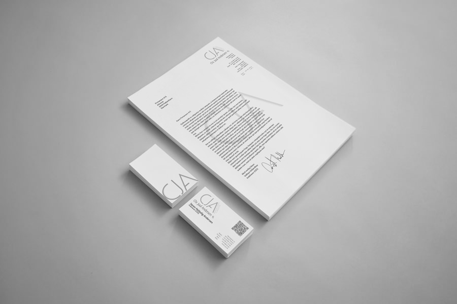 cja - brevpapir & visitkort 3