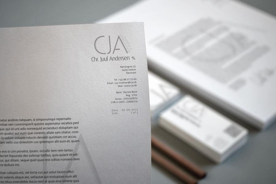 cja - brevpapir & visitkort 4