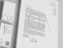 CJA – brevpapir & visitkort