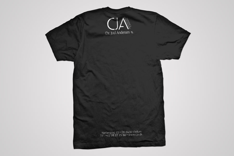 CJA - t-shirt - back