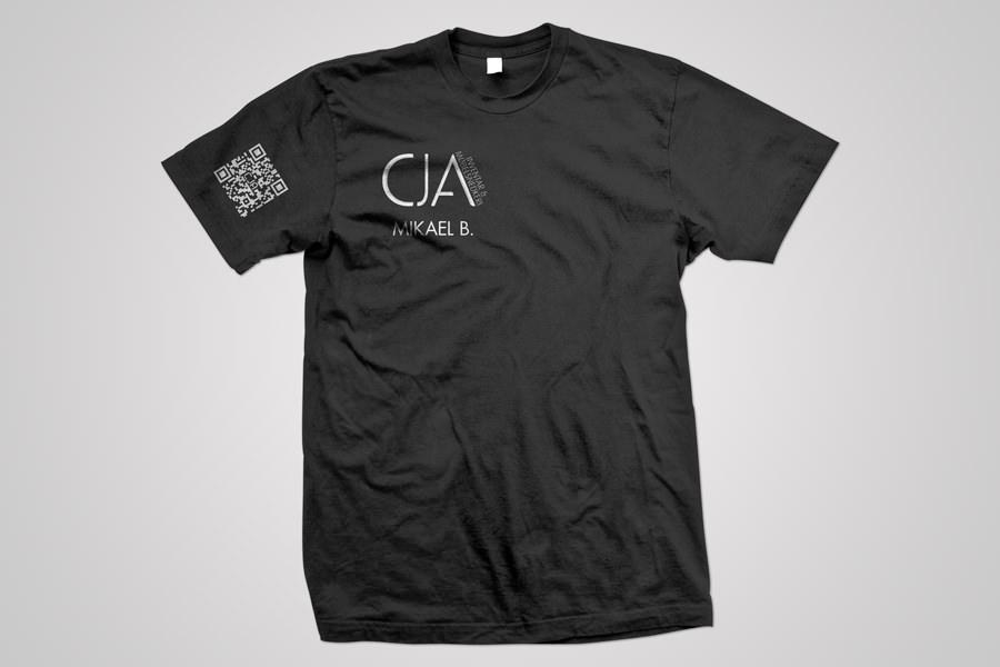CJA - t-shirt - front