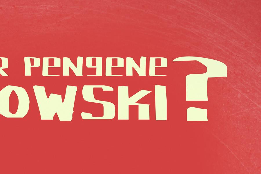 The Big Lebowski - poster closeup2