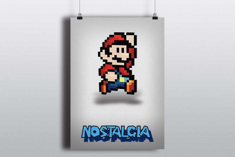 Super Mario 3D - poster