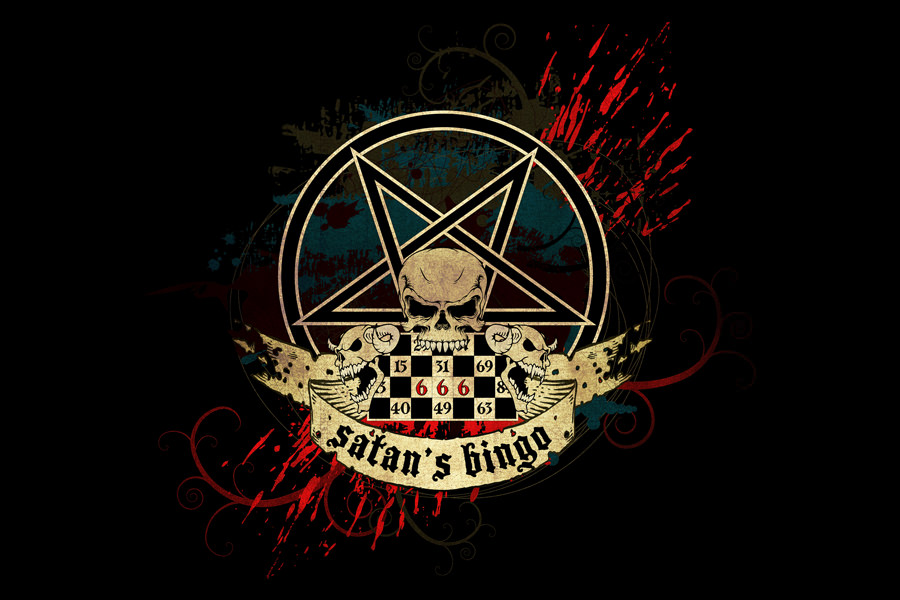 Satan's Bingo Album - logo