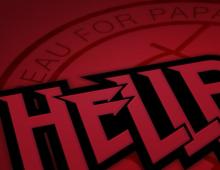 Hellboy – logo+poster