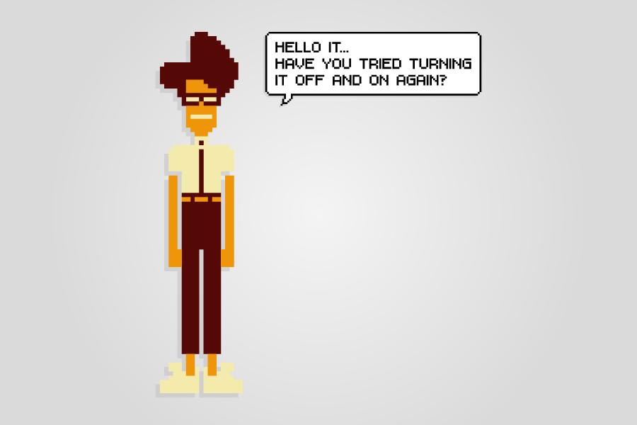 The IT Crowd - pixel