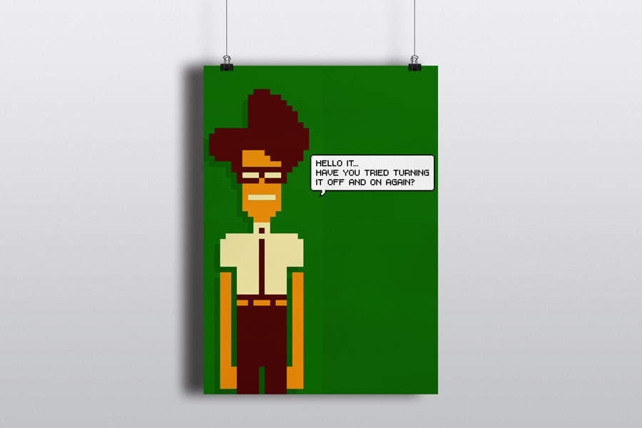 The IT Crowd - poster