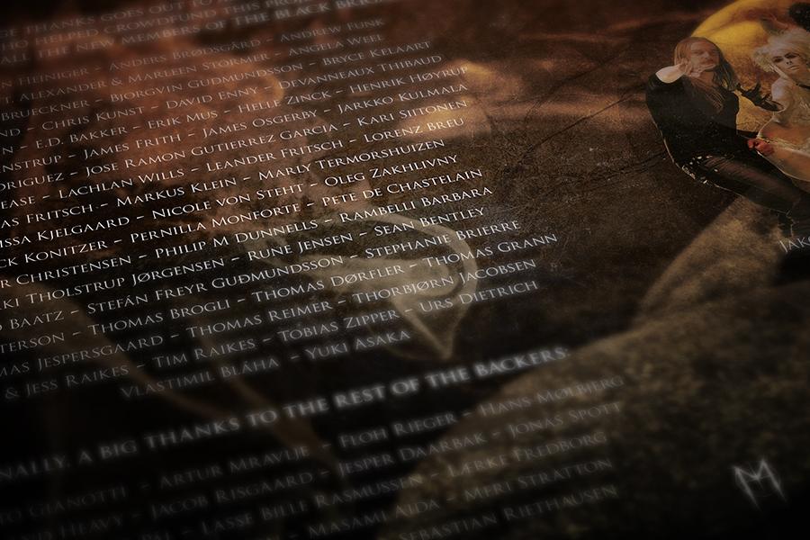 Mercenary cover artwork - closeup 1