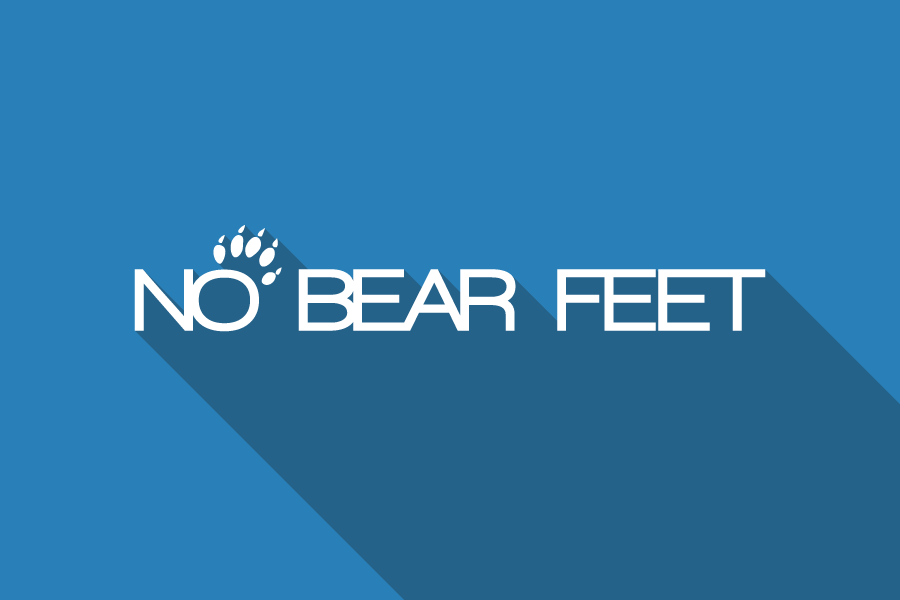 NO BEAR FEET - logo