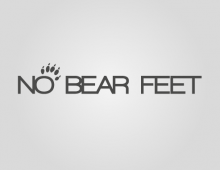 NO BEAR FEET – logo+designs