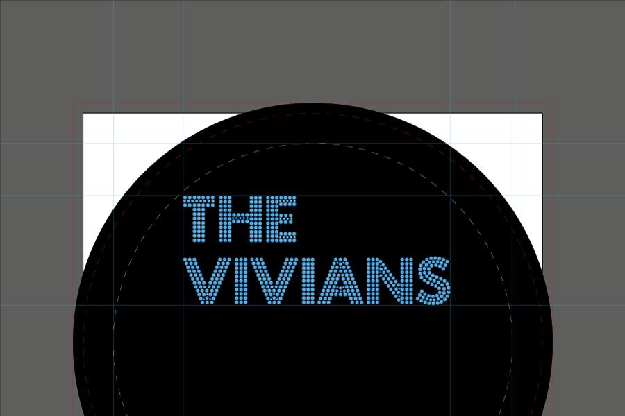 The Vivians - logo opsætning